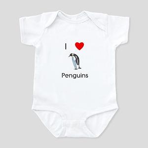 I Love Penguins (pic) Infant Bodysuit