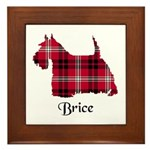 Terrier - Brice Framed Tile