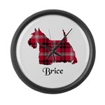 Terrier - Brice Large Wall Clock