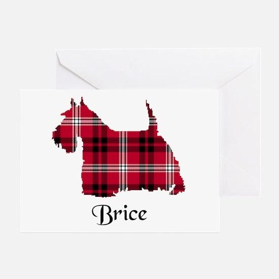 Terrier - Brice Greeting Card