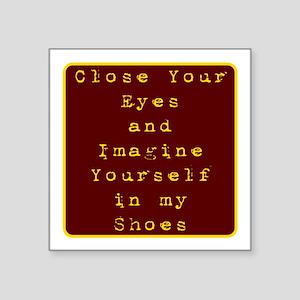 Close Eyes Sticker