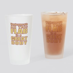 Flabby Drinking Glass