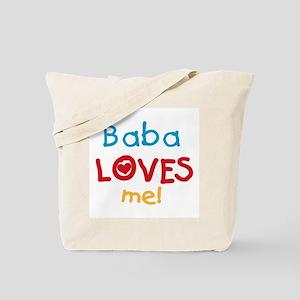 Baba Loves Me Tote Bag