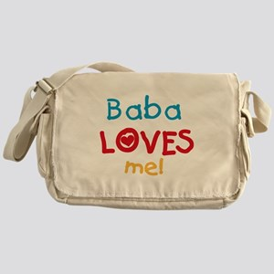 Baba Loves Me Messenger Bag