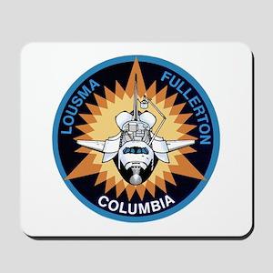 STS-3 Columbia Mousepad