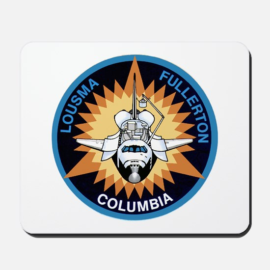 STS-3 Columbia Mousepad