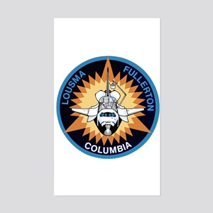 STS-3 Columbia Sticker (Rectangle)