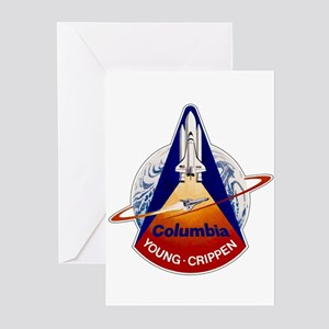 STS-1 Columbia Greeting Cards (Pk of 10)