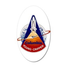 STS-1 Columbia Wall Decal