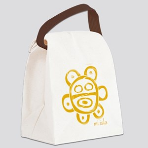 Sol Taino Canvas Lunch Bag