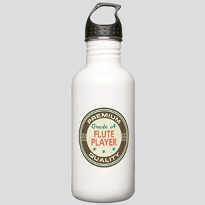 Flute Player Vintage Stainless Water Bottle 1.0L