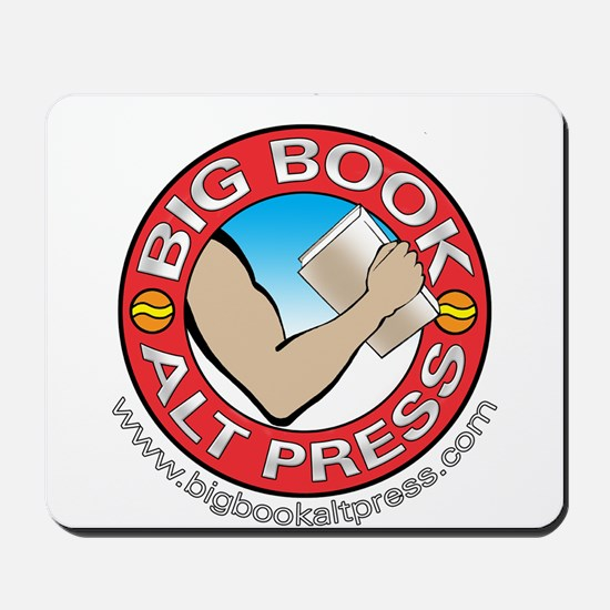 Big Book Alt Press Logo Mousepad
