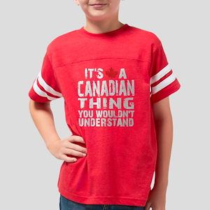 Canadian Thing -dark Youth Football Shirt