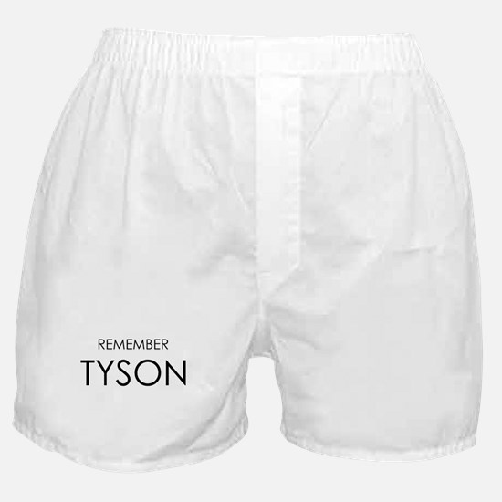 Remember Tyson Boxer Shorts