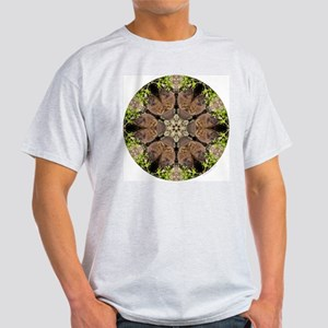 Fisher Mandala Ash Grey T-Shirt