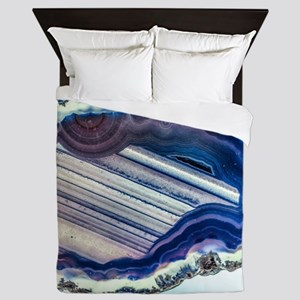 Blue Agate Queen Duvet