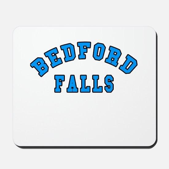 Bedford Falls Blue Mousepad