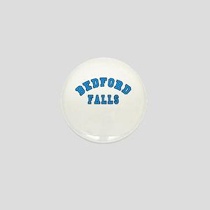 Bedford Falls Blue Mini Button