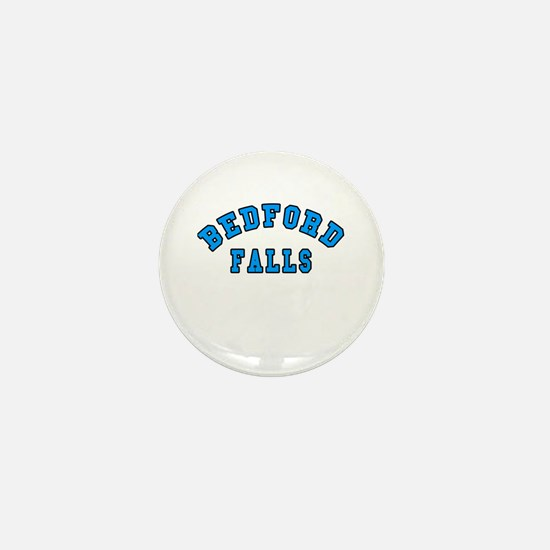 Bedford Falls Blue Mini Button