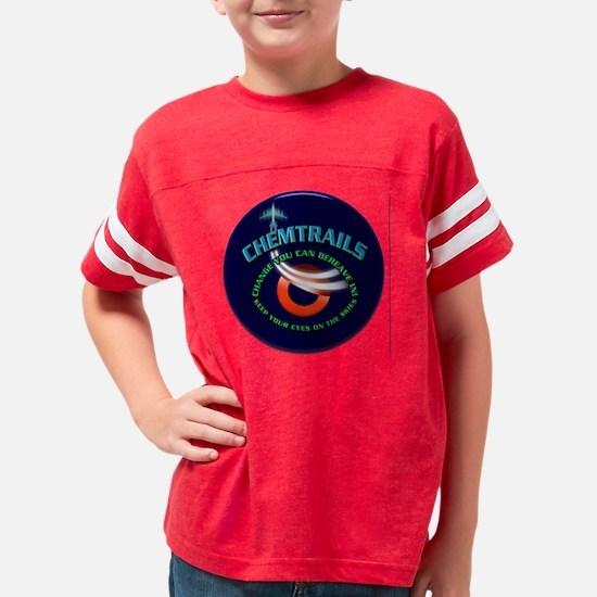 Obamanationrndblu Youth Football Shirt