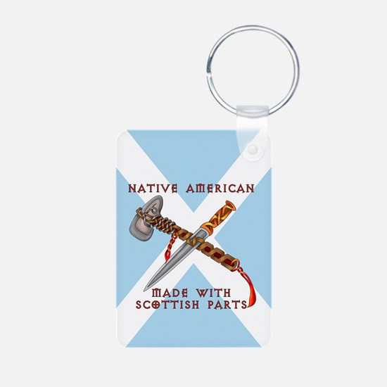 Native American/Scots Keychains