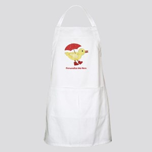 Personalized Duck in Boots Apron