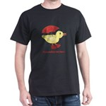 Personalized Duck in Boots Dark T-Shirt