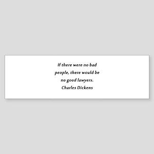 Lawyers Dickens Sticker (Bumper)