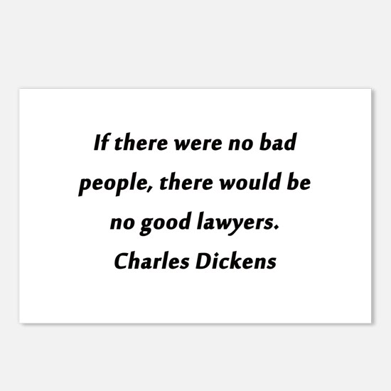 Lawyers Dickens Postcards (Package of 8)