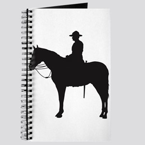 Canadian Mountie Silhouette Journal