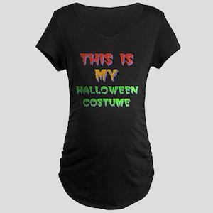 Halloween Costume Maternity T-Shirt