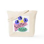 Sanibel Retro Pelicans - Tote or Beach Bag