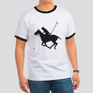 Polo Pony Silhouette Ringer T
