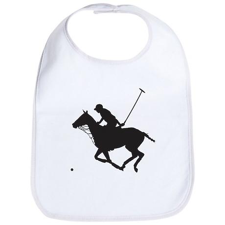 Polo Pony Silhouette Bib