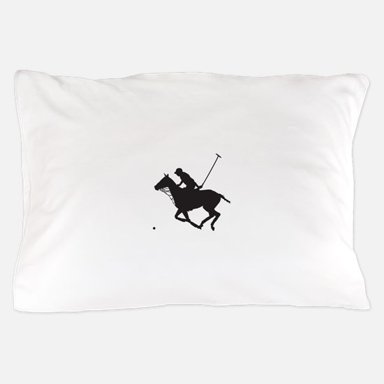 Polo Pony Silhouette Pillow Case