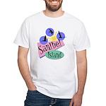 Sanibel Retro Pelicans - White T-Shirt