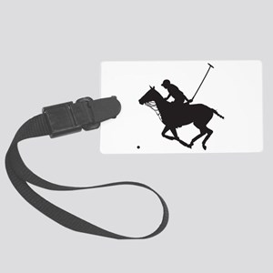 Polo Pony Silhouette Large Luggage Tag