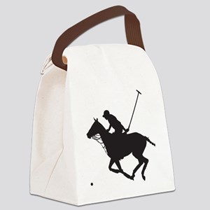 Polo Pony Silhouette Canvas Lunch Bag