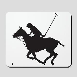 Polo Pony Silhouette Mousepad