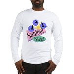 Sanibel Retro Pelicans - Long Sleeve T-Shirt