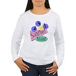 Sanibel Retro Pelicans - Women's Long Sleeve T-Shi