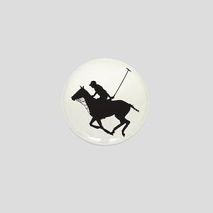 Polo Pony Silhouette Mini Button