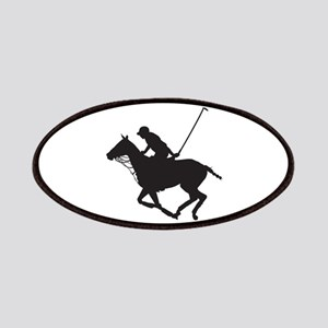 Polo Pony Silhouette Patches