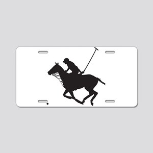 Polo Pony Silhouette Aluminum License Plate