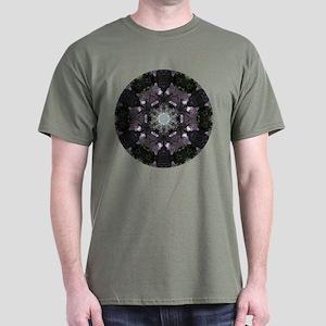 Black Bear Mandala Dark T-Shirt