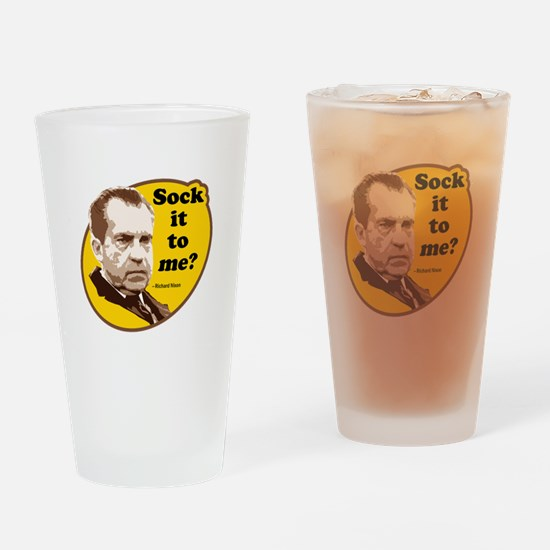 Sock it to me... Drinking Glass