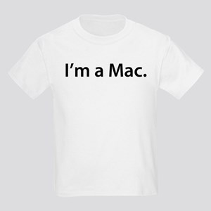 """I'm a Mac."" Kids T-Shirt"