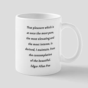 Poe On Pleasure 11 oz Ceramic Mug