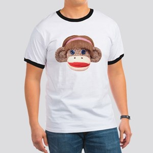 Sock Monkey Cherry Ringer T