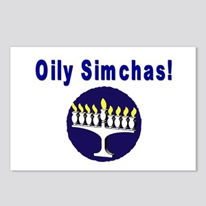 Jewish Oily Simchas Postcards (Package of 8)